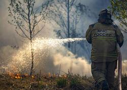 Rusiyada meşə yanğınları səngimək bilmir - FOTO