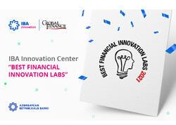 """""""Global Finance"""" IBA İnnovasiya Mərkəzini ən yaxşılardan biri seçdi!"""