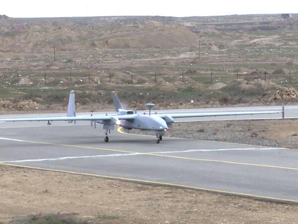 Azərbaycanın döyüş PUA-ları havaya qaldırıldı -