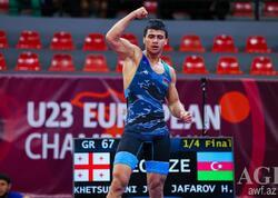 Həsrət Cəfərov Avropa üçüncüsü oldu
