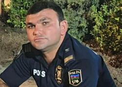 Polis ad günündə qəzaya düşərək öldü - FOTO
