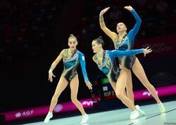 Aerobika gimnastikası üzrə dünya çempionatının birinci günündən maraqlı anlar - FOTOlar
