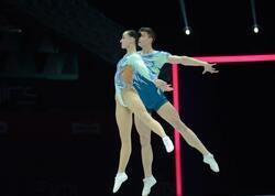 Aerobika gimnastikası üzrə dünya çempionatının ikinci günündən maraqlı anlar - FOTOlar