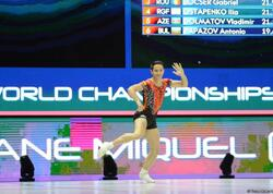 İspaniya gimnastı aerobika gimnastikası üzrə dünya çempionu olub - FOTO