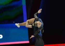 İtaliyalı cütlük aerobika gimnastikası üzrə dünya çempionatında qarışıq cütlüklər arasında qızıl medal qazanıb - FOTO