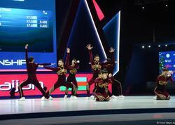 Azərbaycan komandası aerobika üzrə aerodans proqramında dünya çemionu oldu