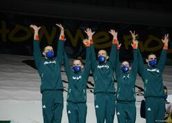 Aerobika gimnastikası üzrə dünya çempionatında qrup hərəkətlərində və aerodans proqramında qaliblər mükafatlandırılıb - FOTOlar