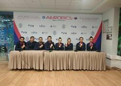 """Dünya Çempionatında qazandığımız qızıl medalı ölkəmizə həsr edirik - <span class=""""color_red"""">Azərbaycan gimnastları</span>"""