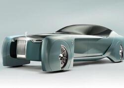 Rolls-Royce markasının ilk elektromobilinin adı açıqlanıb - FOTO