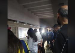 """Metro 8 ay sonra fəaliyyətə başladı - <span class=""""color_red"""">İlk FOTOlar</span>"""