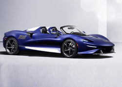 McLaren Elva alın şüşəsinə sahib olub - FOTO