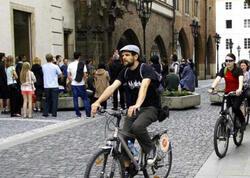 Almaniyada ilk velosiped qarajı açılıb - FOTO