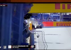 F1 sıralama turunda növbəti qəza - FOTO