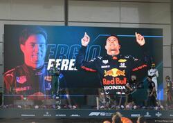 """""""Formula 1""""in ən sürətlisi Serxio Peres oldu - VİDEO - FOTOSESSİYA - YENİLƏNİB"""