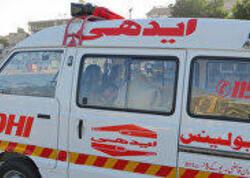 Pakistanda sərnişin mikroavtobusu dərəyə düşdü, ölənlər var