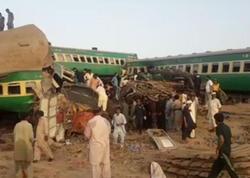 """Pakistanda qatarlar toqquşub: <span class=""""color_red"""">36 nəfər ölüb - VİDEO</span>"""
