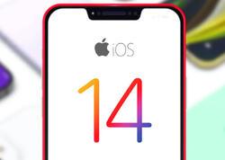 """""""iOS 14"""" sistemi """"iPhone"""" smartfonlarının 90 faizində quraşdırılıb"""