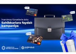 Azərbaycan Beynəlxalq Bankından sahibkarlar üçün kampaniya