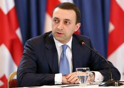 """Gürcüstan və Azərbaycan əməkdaşlıq üçün intensiv dialoq aparırlar - <span class=""""color_red"""">İrakli Qaribaşvili</span>"""