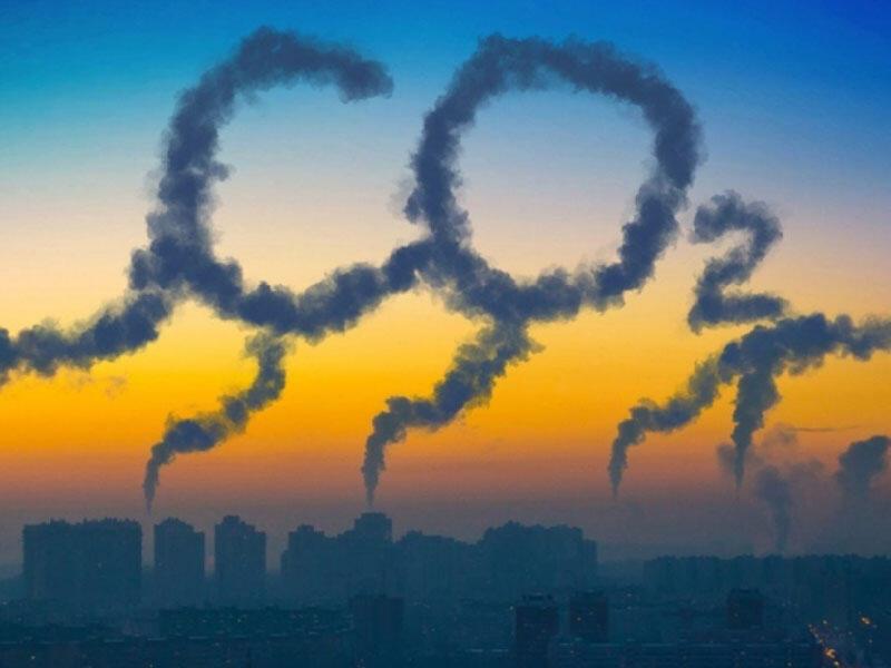 Karbon qazının konsentrasiyası tarixi maksimum həddə çatıb