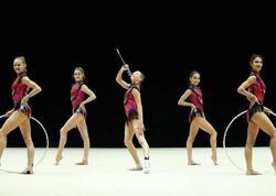 İdmançılarımız bədii gimnastika üzrə Avropa çempionatının iki finalına çıxıblar