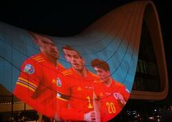 """AVRO-2020 iştirakçılarının görüntüləri Heydər Əliyev Mərkəzinin üzərində - <span class=""""color_red"""">FOTOlar</span>"""