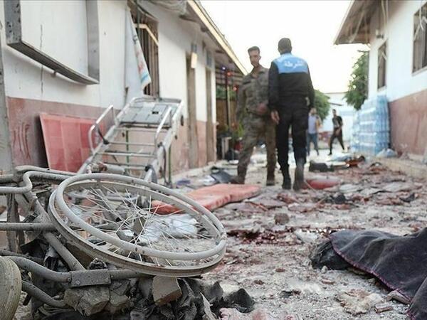 Suriyada xəstəxananın artileriya atəşinə tutulması nəticəsində ölənlərin sayı 15-ə yüksəlib