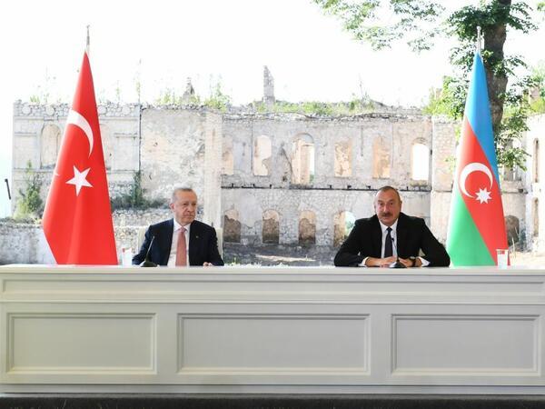 Prezident İlham Əliyev: Türkiyə-Azərbaycan birliyi, qardaşlığı əbədidir!