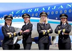 """AZAL-da ilk qadın pilotlar işə başlayıb - <span class=""""color_red"""">VİDEO</span>"""