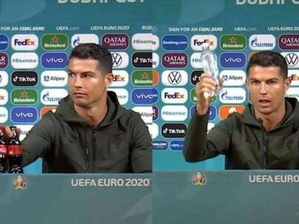 UEFA futbolçulardan masadakı içki şüşələrinə toxunmamağı tələb edib