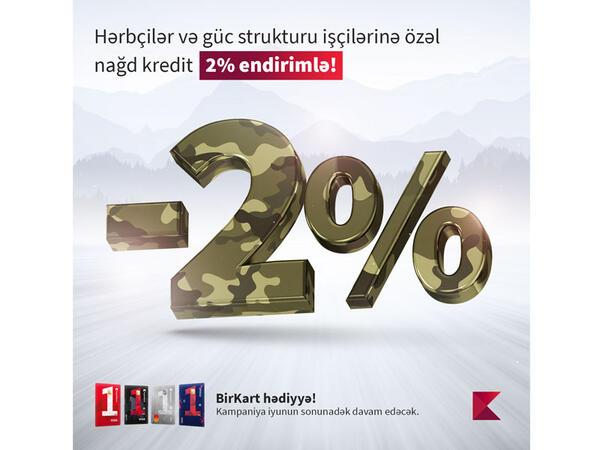 Kapital Bank-dan Silahlı Qüvvələr Gününə özəl kampaniya
