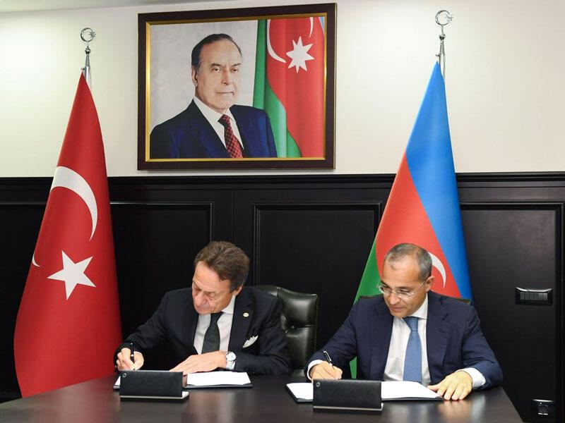 Azərbaycan Türkiyənin aparıcı şirkəti ilə Anlaşma Memorandumu imzalayıb