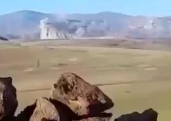 Düşmənin Şuşanı bombaladığı anlar - VİDEO