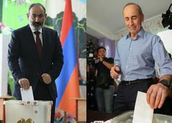Ermənistanda seçkilər: İlkin nəticələr açıqlandı