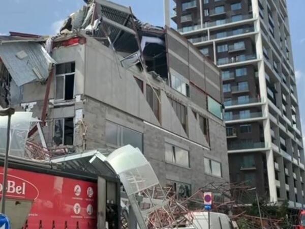 Belçikada məktəb binası çöküb, ölənlər var