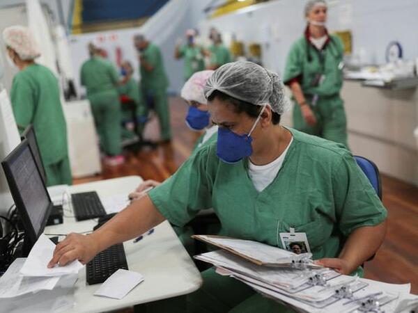 Braziliyada koronavirus qurbanlarının sayı yarım milyona çatır