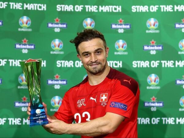 İsveçrə - Türkiyə matçının ən yaxşısı bilindi