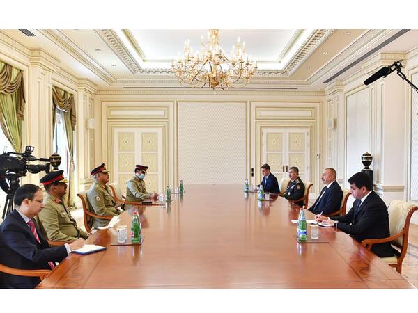 Prezident İlham Əliyev: Azərbaycan Kəşmir məsələsində hər zaman Pakistanı dəstəkləyir