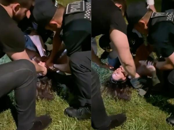 """Bakıda polis qızı ölümdən belə xilas etdi - <span class=""""color_red"""">Hadisənin VİDEOsu</span>"""
