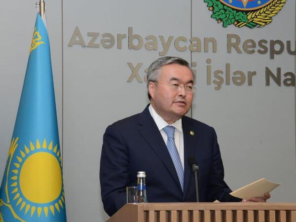 Azərbaycanla COVİD pasportunun qarşılıqlı tanınmasına hazırıq - Qazaxıstan XİN rəhbəri