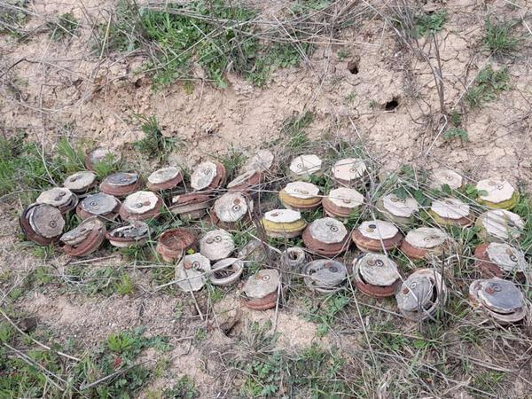 Azad olunan ərazilərdə ötən həftə aşkarlanan minaların sayı açıqlandı