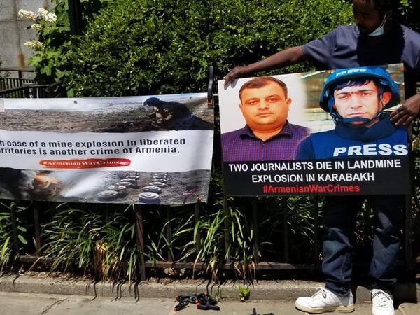 Nyu-Yorkda minaya düşərək həlak olan azərbaycanlı jurnalistlər yad edilib - FOTO