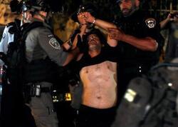 """Qüdsdə İsrail polisi ilə toqquşmalarda <span class=""""color_red"""">20 fələstinlini yaralanıb</span>"""