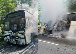 """Rusiyada uşaqlarla dolu avtobuslar toqquşdu: <span class=""""color_red"""">15 nəfər yaralandı - FOTO</span>"""