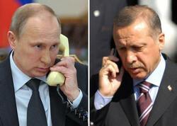Putinlə Ərdoğan ilə telefonla danışdı
