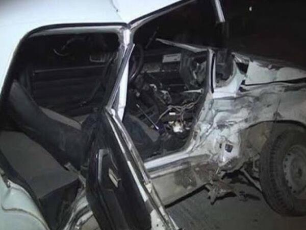 Bakıda avtomobil aşıb, sürücü ölüb