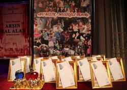 Musiqili Teatrda mükafatlar paylandı - FOTO
