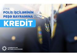 Azərbaycan Beynəlxalq Bankından polis işçiləri üçün kampaniya!