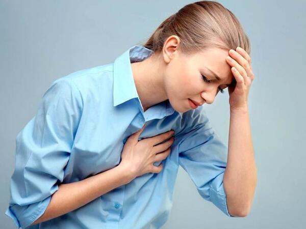Ürək nahiyəsində ağrıların səbəbləri