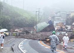 Yaponiyada torpaq sürüşməsi nəticəsində ölənlərin sayı 10-a çatdı